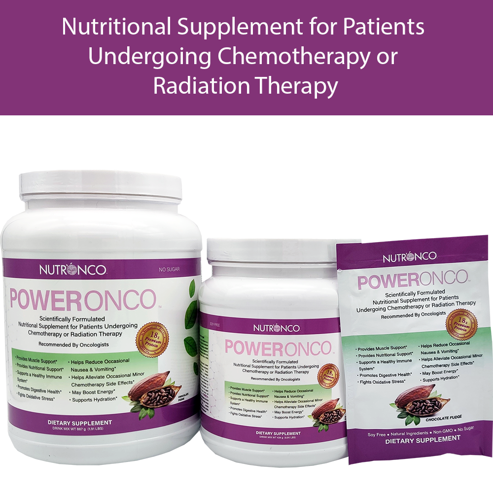 PowerOncon nutritional supplement for chemotherapy patients